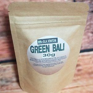 Kratom| Green Bali 30 grams| Lab Tested